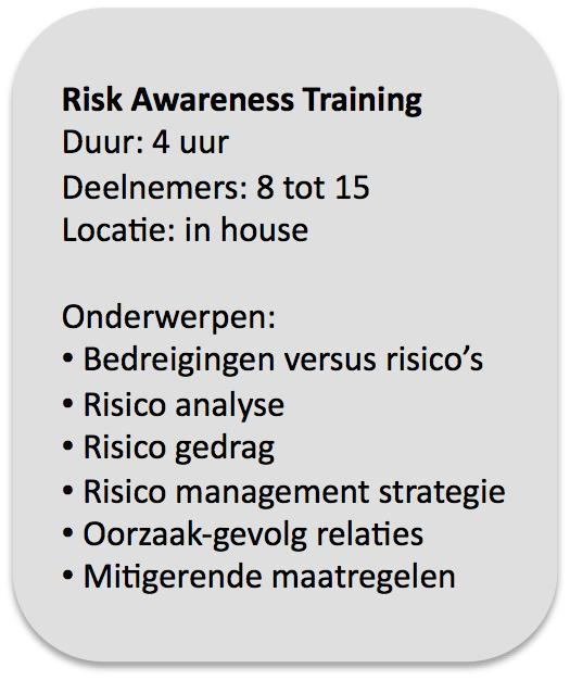 Risk Awareness Training